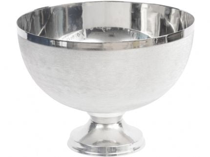 Silver Stemmed Bowl - Global Trading
