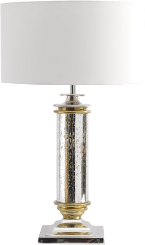Silver Antique Gold Lamp - Global Trading