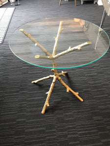 Circular Glass Coffee Table - Global Trading