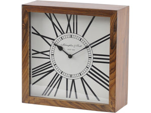 Wooden Mantel Clock - Global Trading