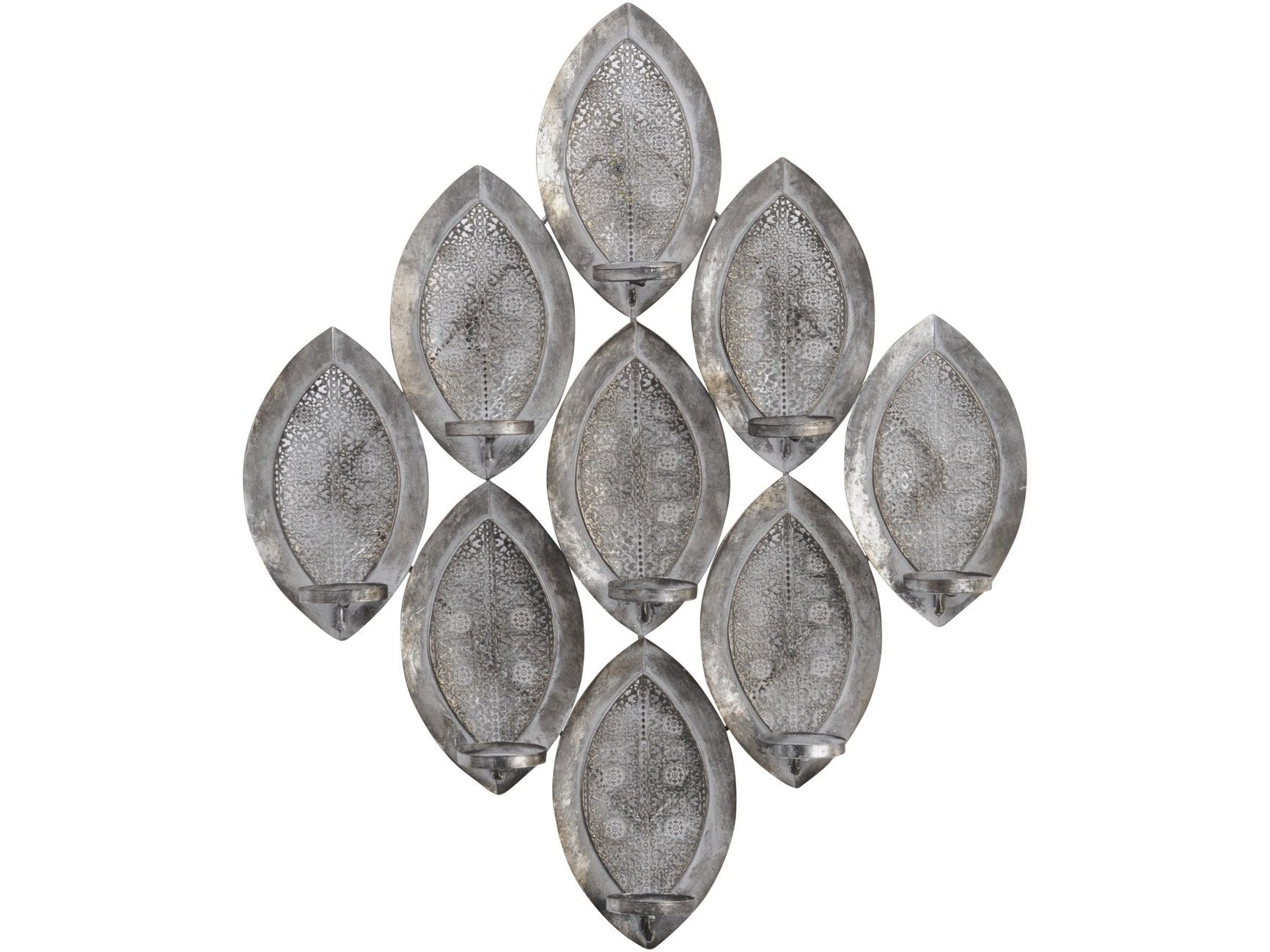 Filigree Multiple Candle Wall Sconce - Global Trading