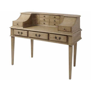Mindi Wood Writing Desk - Global Trading