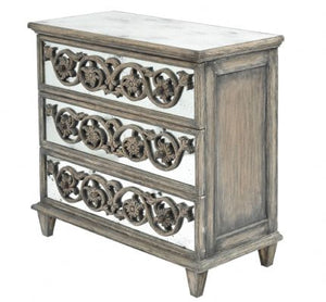 Roxborough Mindi Three Drawer Chest - Global Trading
