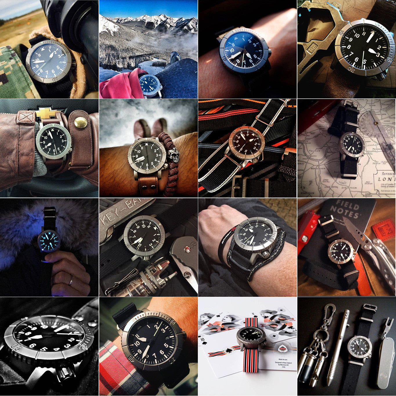 Redux Titanium #COURG Type-A Watch Field Reports