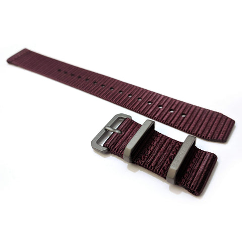 Ballistic Nylon Two Piece Strap: Color 8 20mm