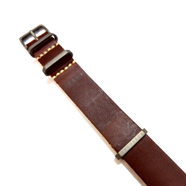 Rust Color G10 American Leather Strap 20mm