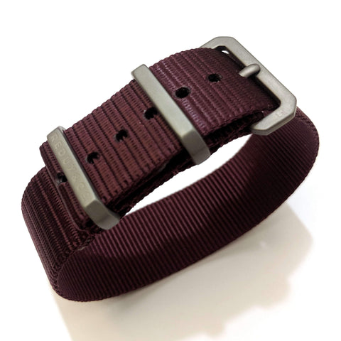 Ballistic Nylon Single Pass Strap: Color 8 20mm