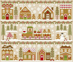 Country Cottage Needleworks ~ Gingerbread Village