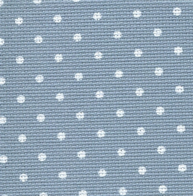 20ct Blue Petit Point Aida ~ Fat 1/4