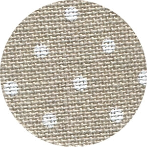 32ct Linen ~ Belfast Petit Point ~ Natural-Raw/White ~ Fat 1/8
