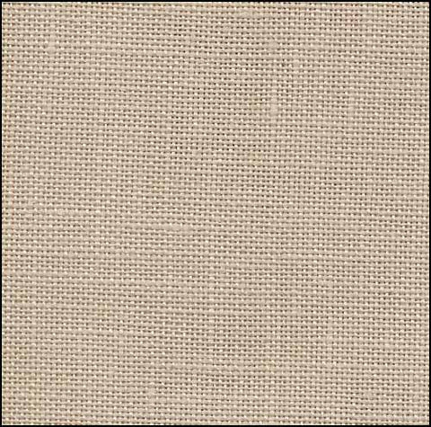36ct Edinburgh Linen ~ Light Mocha ~ Fat 1/8