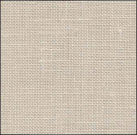 40ct Newcastle Linen ~ Platinum ~ Fat 1/4