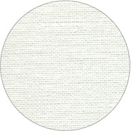 40ct Newcastle Linen ~ White ~ Fat 1/4