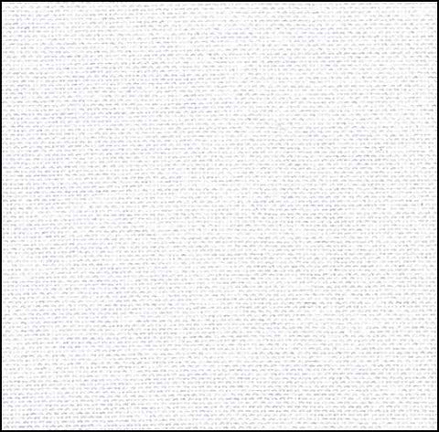 56ct Zweigart Kingston Fabric - White ~ Fat 1/4