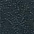 Mill Hill Frosted Seed Beads 62014 ~ Black  2.2mm