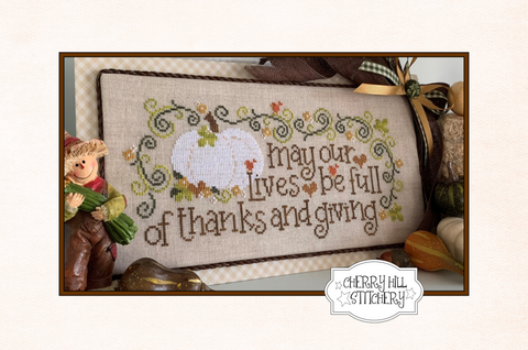 PDF ~ Cherry Hill Stitchery ~ An Autumn Wish PDF