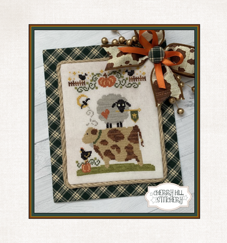 PDF ~ Cherry Hill Stitchery ~ Autumn Barnyard Stack - PDF