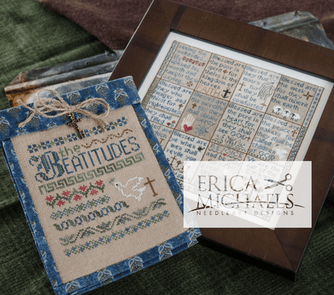 Erica Michaels Designs ~ The Beatitudes - Part 2  (Middle Row, 4 designs)