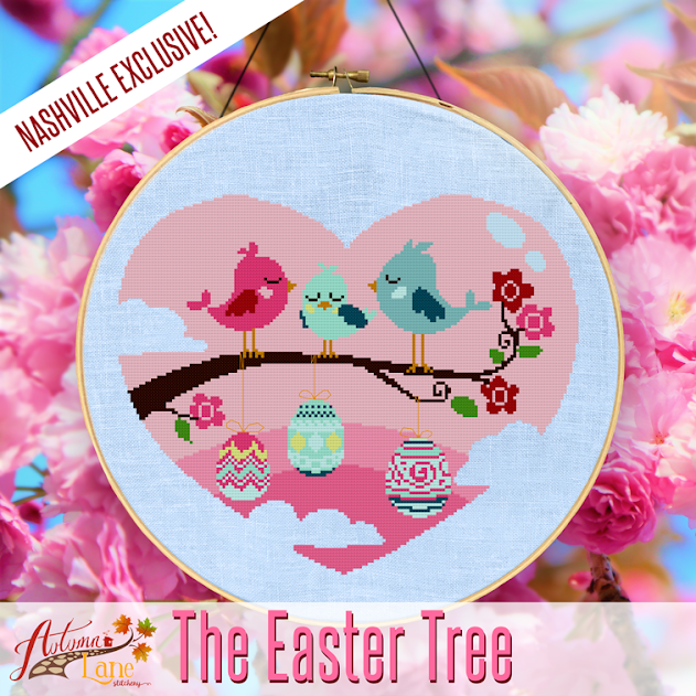 Autumn Lane Stitchery ~ The Easter Tree ~ Market Exclusive!