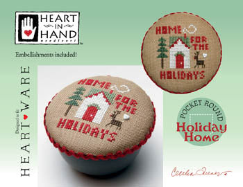 Heart In Hand ~ Holiday Home (w/emb)