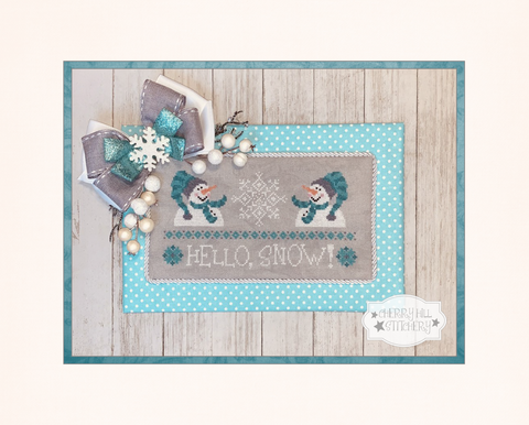 PDF ~ Cherry Hill Stitchery ~ Hello, Snow! - PDF