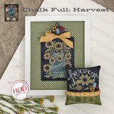 Hands On Design ~ Chalk Full:  Harvest Pattern - PRE-ORDER for late June (read details!)!!!!