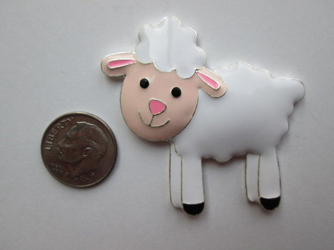 Needle Minder - White Sheep