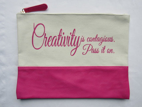 Project Zipper Bag - Creativity - Pass It On...