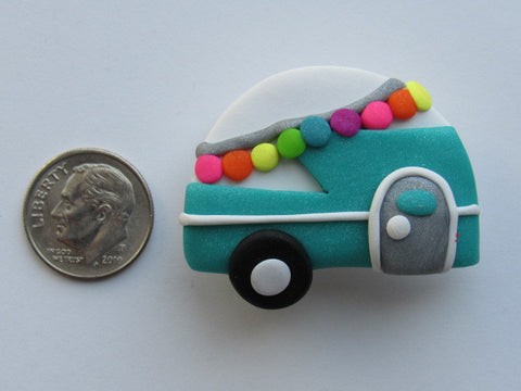 Needle Minder ~ Camper (Clay)