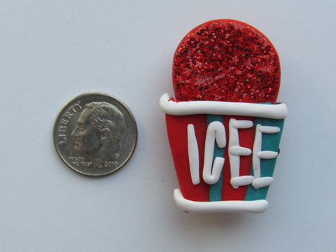 Needle Minder ~ Cherry Icee (Clay) SO CUTE!