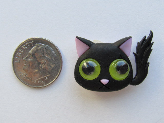 Needle Minder ~ Black Cat!