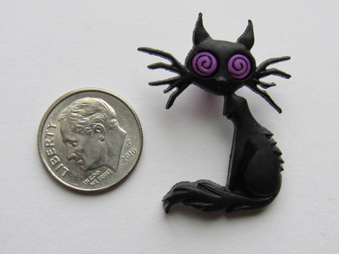 Needle Minder ~ Spooked Cat #3