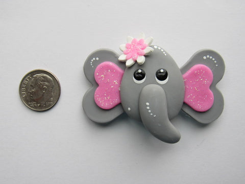 Needler Minder ~ Ellie Elephant (Clay)