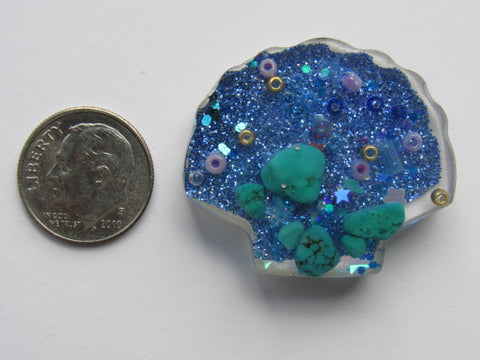 Needle Minder ~ Sea Shell Treasures #4 - ONE OF A KIND!