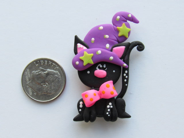 Needle Minder -  Cat in the Hat (Clay)