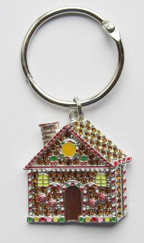 BLING! Floss Ring ~ Gingerbread House
