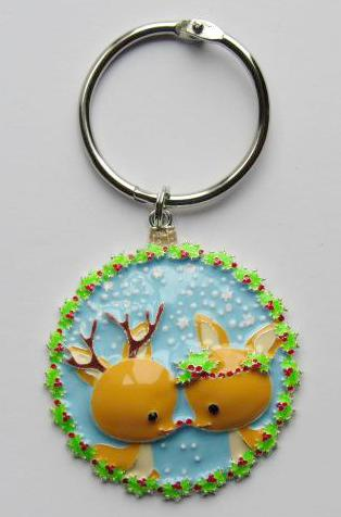 BLING! Floss Ring ~ Reindeer Kisses