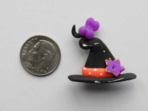 Needle Minder -  Lil' Witch Hat (Clay)
