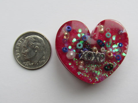 Needle Minder ~ Heart Treasures #3 - ONE OF A KIND!