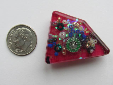 Needle Minder ~ Coffee Treasures #6 - ONE OF A KIND!