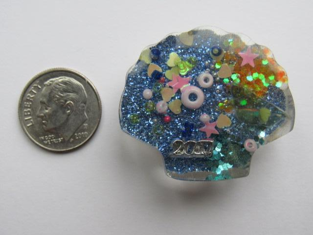 Needle Minder ~ Sea Treasures Shell #8 - ONE OF A KIND!