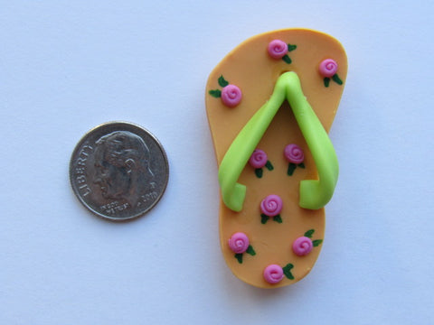 Needle Minder ~ Flip Flop #2 (Clay)