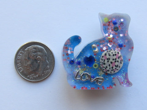 Needle Minder ~ Cat Treasures #12 - ONE OF A KIND!