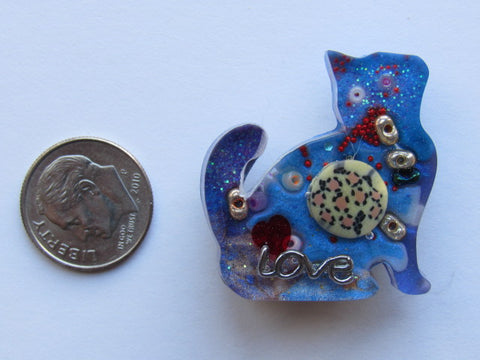 Needle Minder ~ Cat Treasures #1 - ONE OF A KIND!