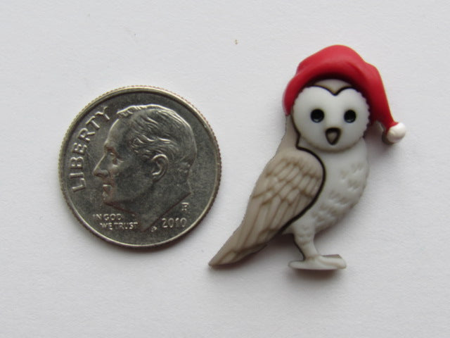 Needle Minder - Winter Forest Visitor - Owl