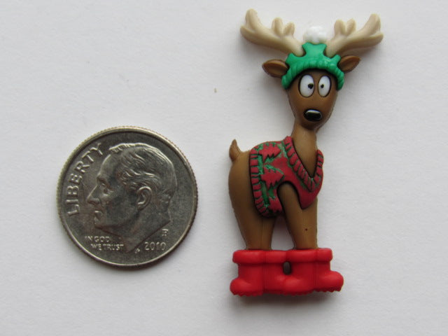 Needle Minder - Deer in Boots (various designs!)