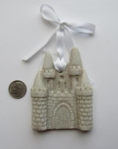 Beautiful Sand Ornament ~ Sand Castle