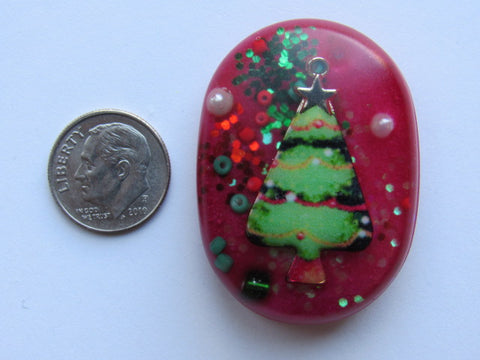 Needle Minder ~ Christmas Treasures #1 - ONE OF A KIND!