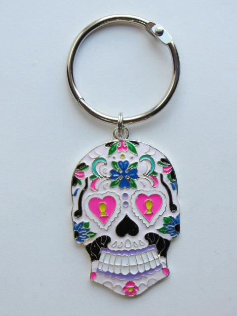 BLING! Floss Ring ~ Sugar Skull (Matching Needle Minder available!)