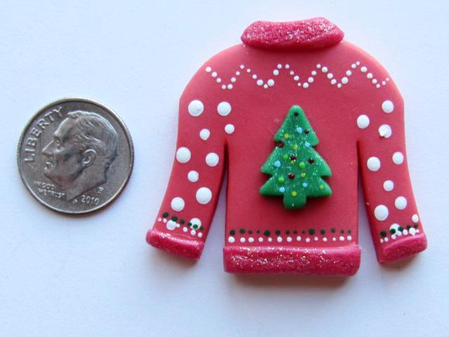 Needle Minder - Ugly Christmas Sweater (Clay)